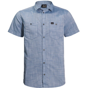Jack Wolfskin Emerald Lake Shirt Men ocean wave